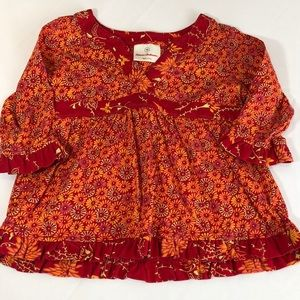 Hanna Andersson Daisy Floral Print Dress Size 90